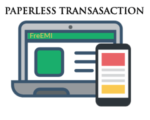 Paperless transaction